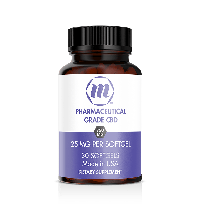 MCBD CBD Softgels 25mg