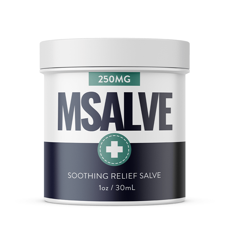 MSalve 250mg full spectrum hemp salve
