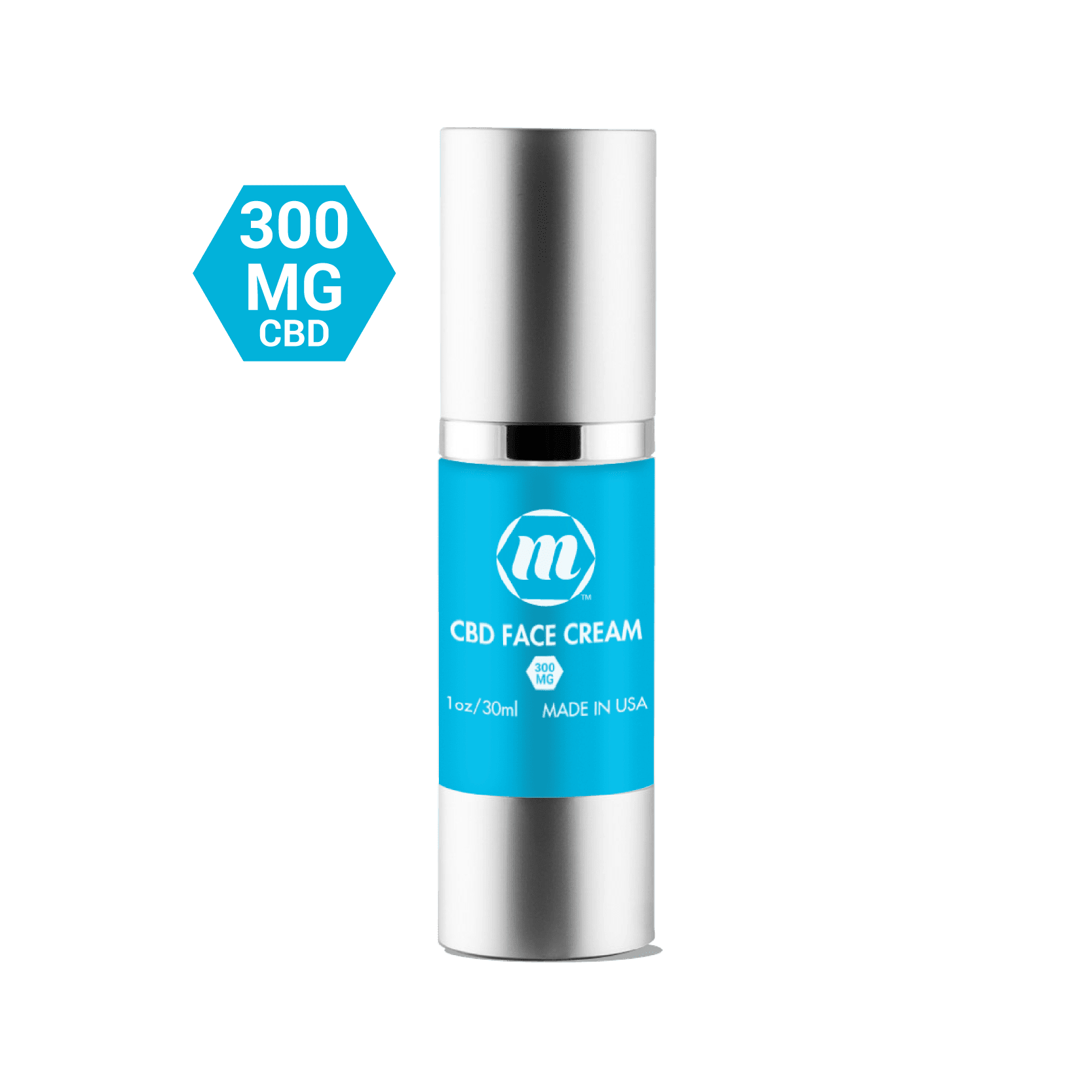Natural Anti-Inflammatory CBD Face Cream 300MG | MCBD shop